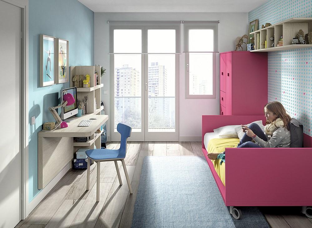 Habitaci n juvenil con cama tatami - Habitacion tatami ...